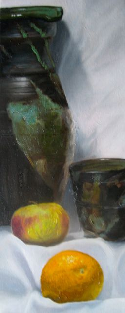 Cup & Jug with fruit (2013)