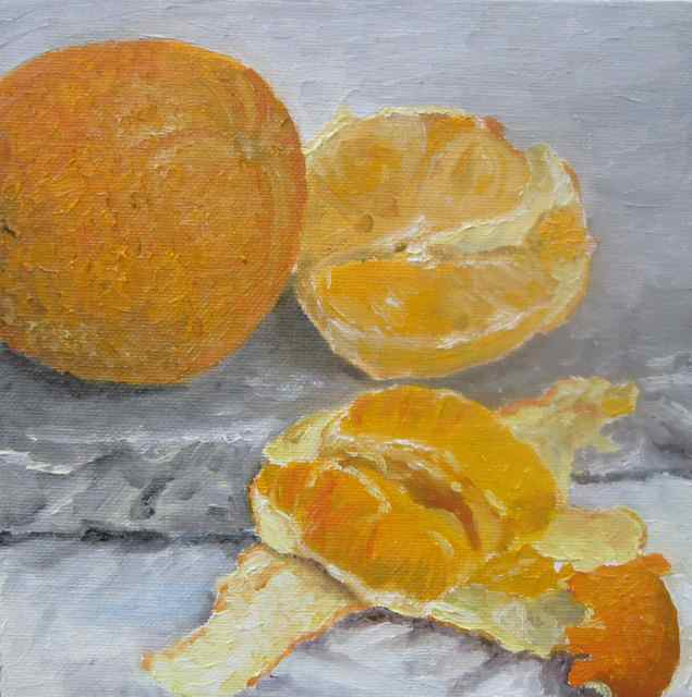 Oranges on Stone (2014)