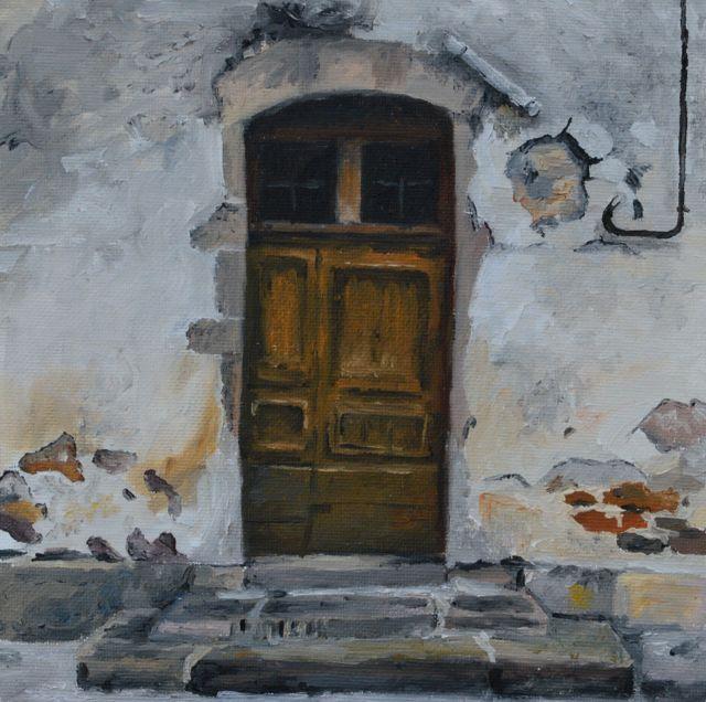 La porte de Mme Dubreuil