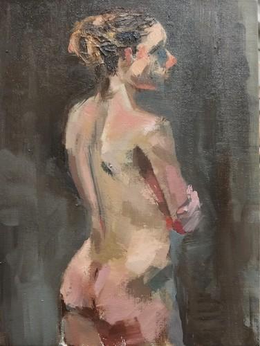 Figure study of Natasha